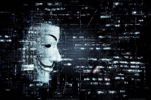 maska a binární kód