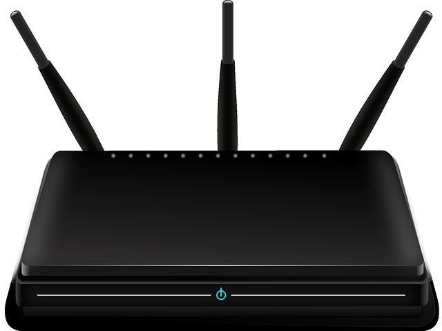 modem s internetem
